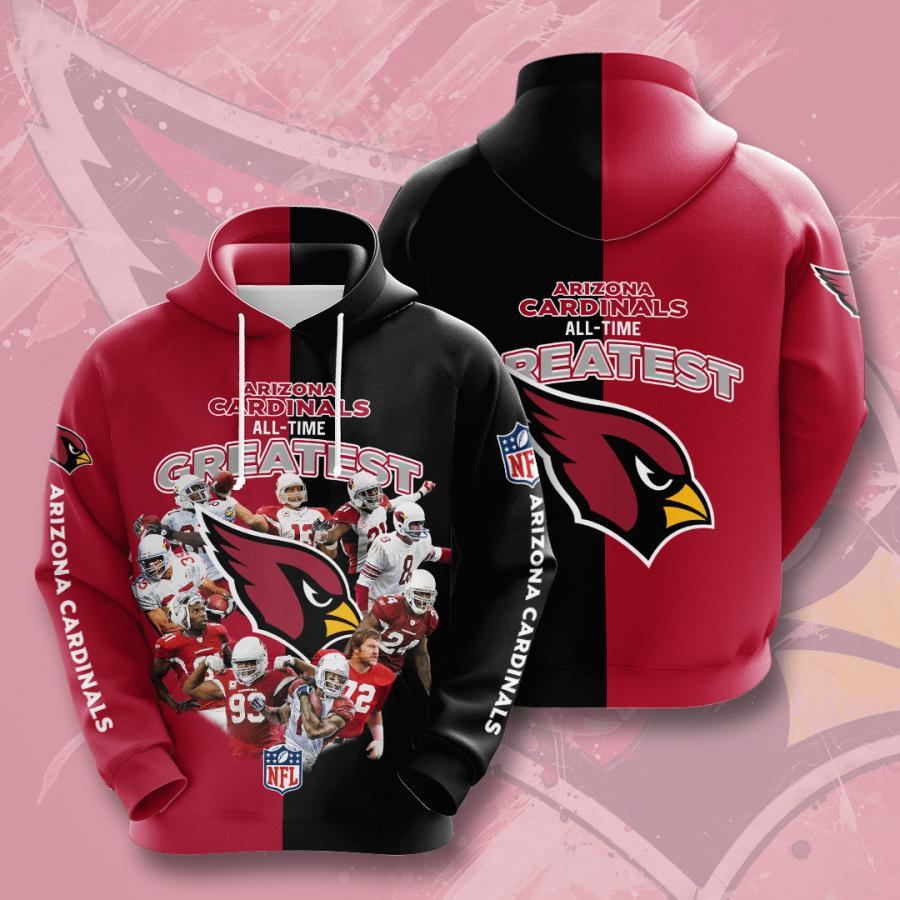 Arizona Cardinals 3d Hoodie 25