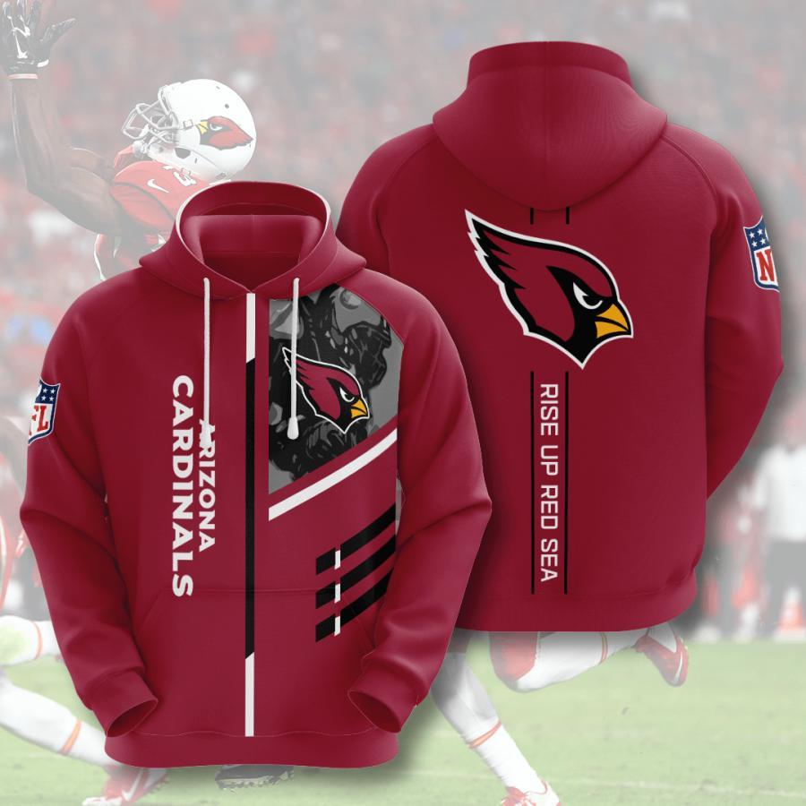 Arizona Cardinals 3d Hoodie 2