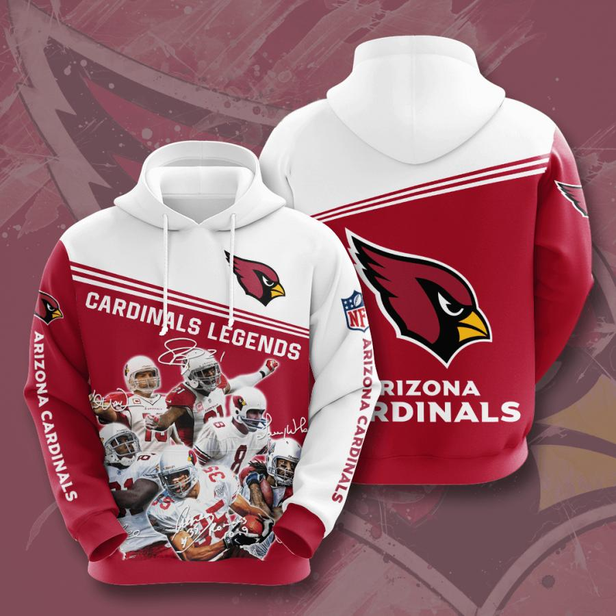 Arizona Cardinals 3d Hoodie 12