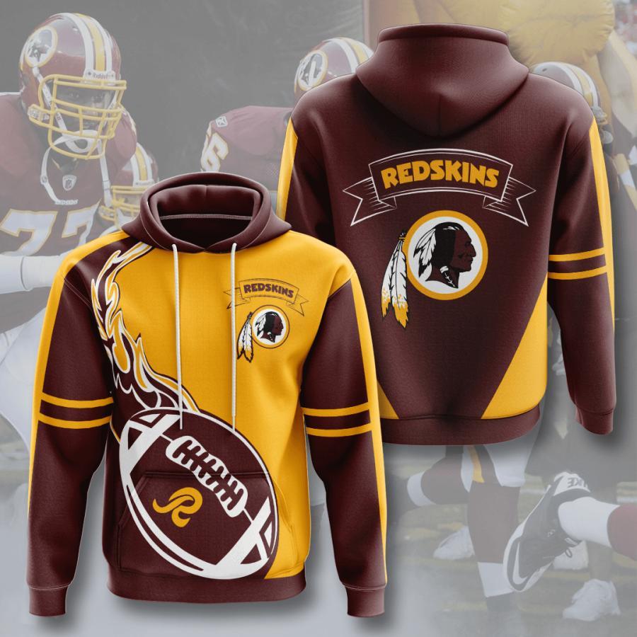 Washington Redskins 3d Hoodie 4