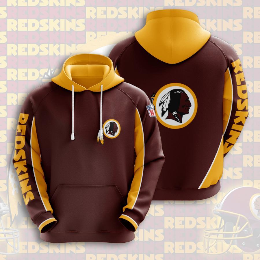 Washington Redskins 3d Hoodie 3