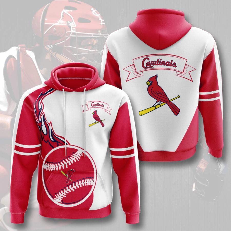 St. Louis Cardinals 3d Hoodie 3