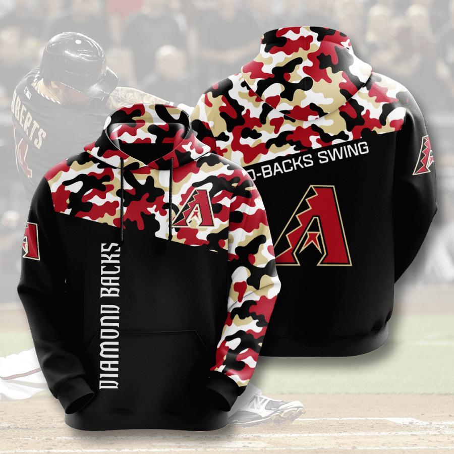 Arizona Diamondbacks 3d Hoodie 2