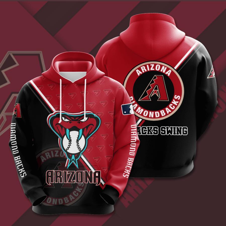Arizona Diamondbacks 3d Hoodie 11