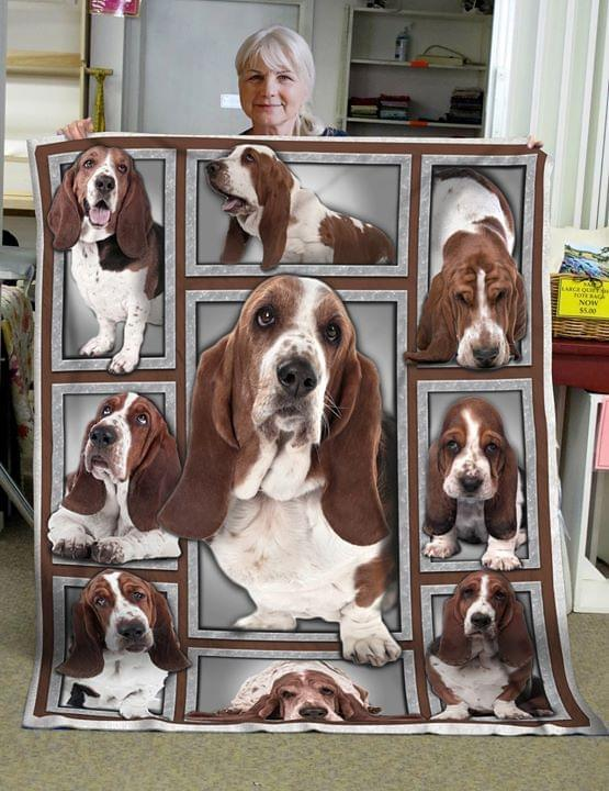 beagle dog pet lovers quilt blanket