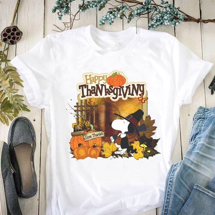 happy thanksgiving snoopy pumpkin thanksgiving costume t shirt