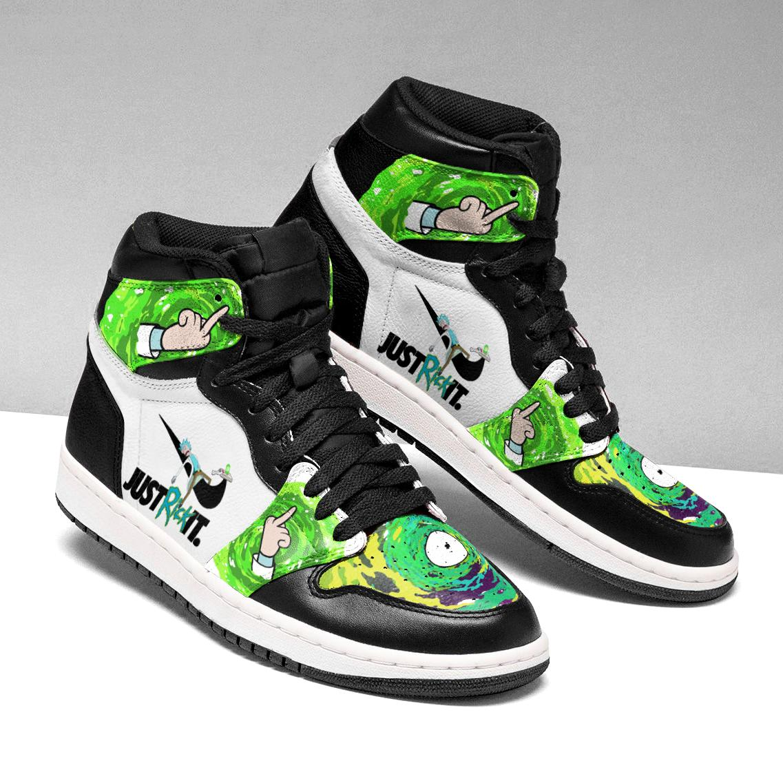 rick and morty sneakers